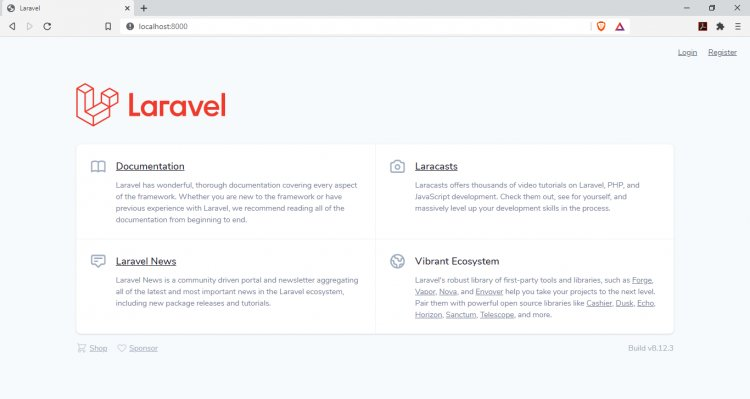 SIMPLE AUTHENTICATION (LOGIN,LOGOUT AND REGISTRATION) USING LARAVEL 8